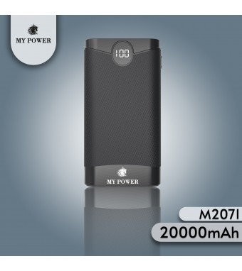Mypower 20000mAh M2071 Digital Portable My Power Powerbank